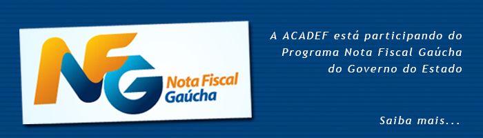 Banner do Programa Nota Fiscal Gaúcha, do Governo do Estado