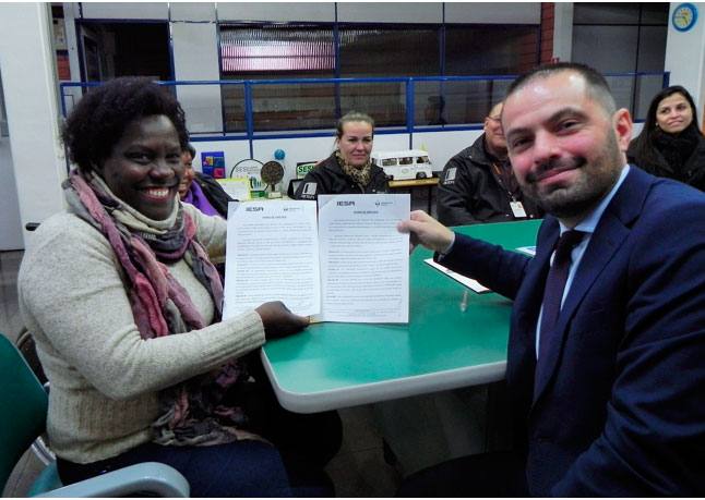 Assinatura da parceria IESA/RENAULT E ACADEF