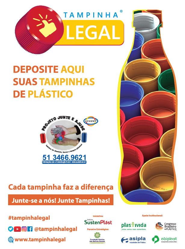 Banner Tampinha Legal