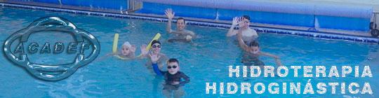 Banner da hidroterapia e hidroginástica